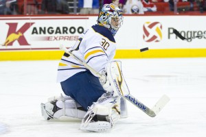 Ryan Miller has been the subject of many trade rumors (Photo by Andy Martin Jr)
