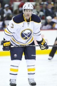 Buffalo Sabre Jordan Leopold - Photo by Andy Martin Jr