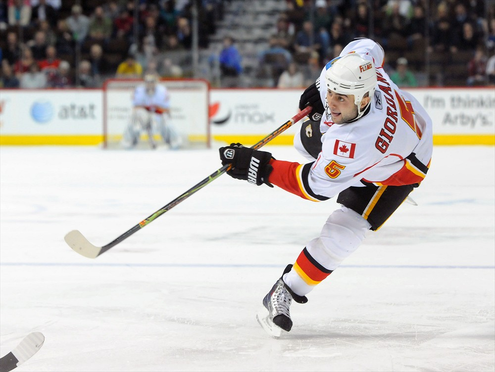 Mark Giordano could be a top five defenseman. (Dustin Bradford/Icon SMI)