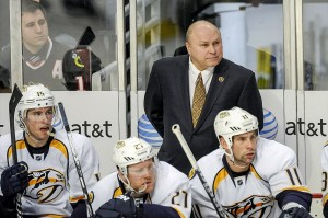 Barry Trotz Predators coach