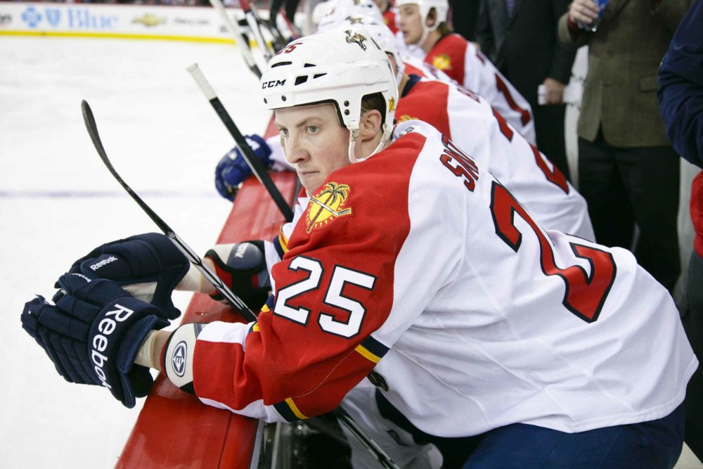 Jerred Smithson acquired by Florida Panthers_Photo Credit:  Andy Martin Jr
