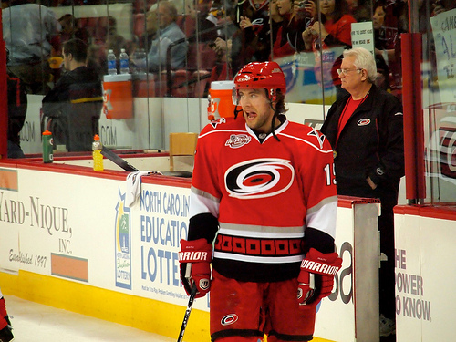 Some would say the Carolina Hurricanes overpaid to re-sign Tuomo Ruutu (Ranger Rick/Flickr)