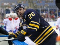 Thomas Vanek and the rest of the Sabres realize the situation they are in. (Jerome Davis/Icon SMI)