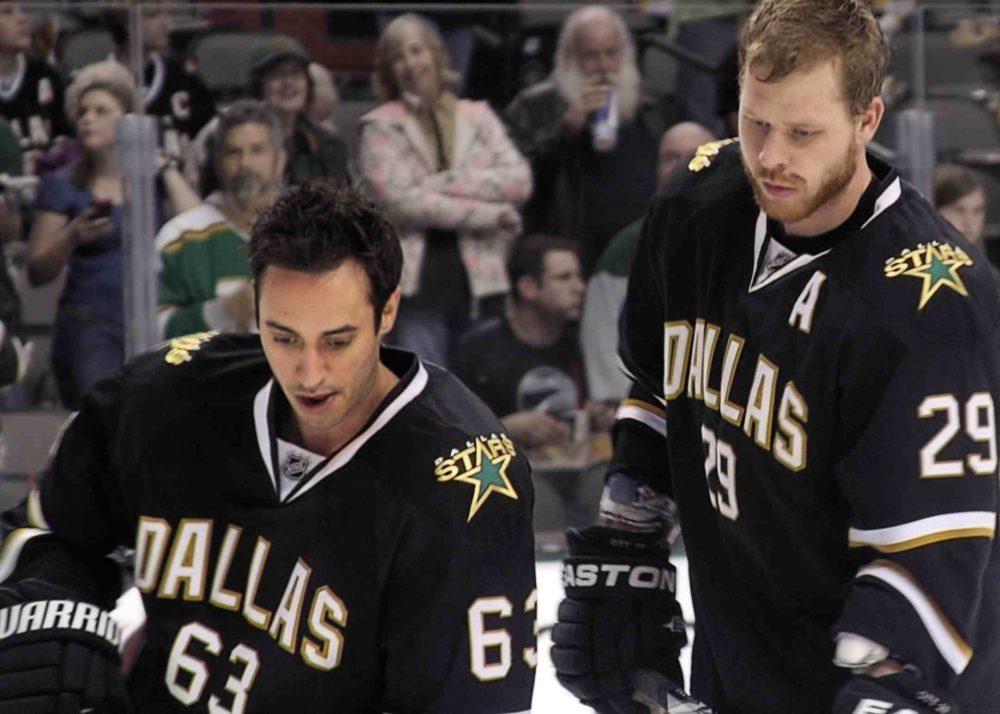 Mike Ribeiro and Steve Ott will no longer wear a Stars uniform. (HermonVonPetri/flickr)