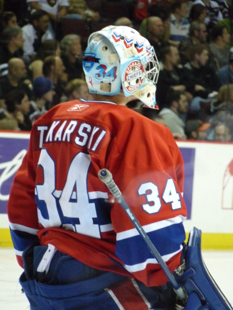 Tokarski won the Memorial Cup with the Sokane Chiefs in 2008, and the gold medal with Team Canada at the 2009 World Junior Championship. (Sam Chan)
