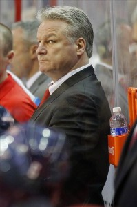 Dale Hunter Capitals coach
