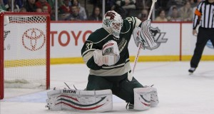 Josh Harding has been a warrior for the Minnesota Wild, and when healthy he and Niklas Backstrom are one of the best goalie tandems in the NHL. (Brace Hemmelgarn-US PRESSWIRE)