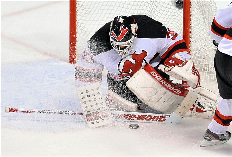 Can you ever really count Brodeur out? (Brad Barr-US PRESSWIRE)