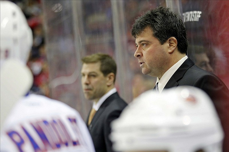 Jack Capuano has never given up on the Islanders, and he - as well as the Islanders' front office - is starting to see his hard work finally paying off on a consistent basis. (Geoff Burke-US PRESSWIRE)