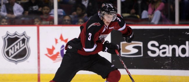 The Calgary Flames silky smooth super 2012 NHL draft savvy 4th round selection: Brett Kulak - Vancouver Giants