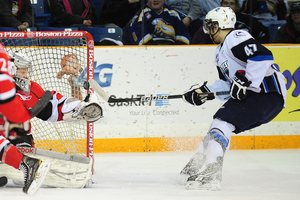 Dalton Thrower - 2012 Draft Eligible Ice Gladiator (Saskatoon Blades of WHL)