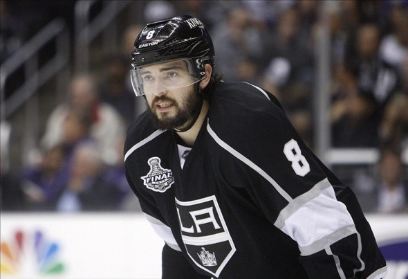 Drew Doughty has been Canada's MVP (Jerry Lai-US PRESSWIRE)