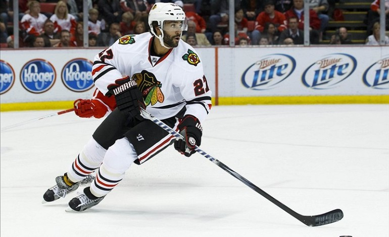 Evaluating Blackhawks Defenseman Johnny Oduya