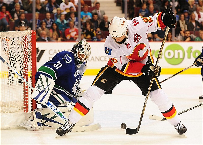 Eddie Lack has been very impressive as Roberto Luongo's backup this season. (Anne-Marie Sorvin-US PRESSWIRE)
