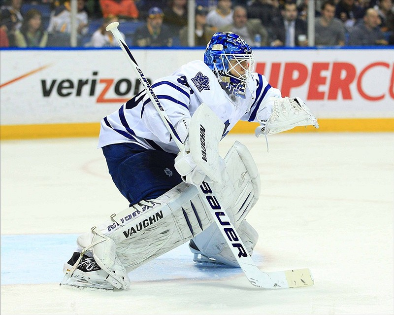 Should Reimer go down with an injury, would Ben Scrivens be able to hold the fort down in net? (Kevin Hoffman-US PRESSWIRE)