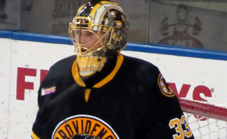 Providence Bruins' Goaltender Michael Hutchinson Looks to Seize Opportunites
