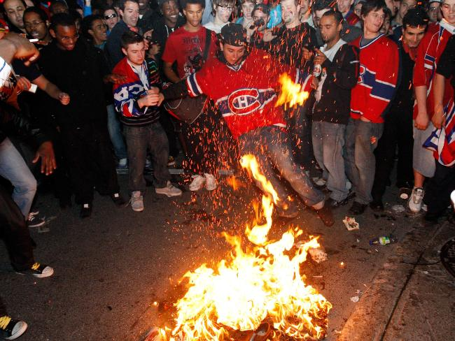 Habs' fans have history of being somewhat irritable when things  are not going well for the team.