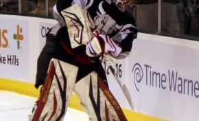 Jacob Markstrom Heats Up - Wins AHL Player Of The Week