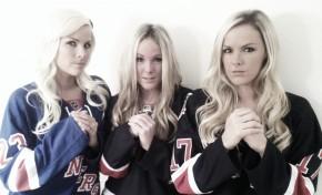 Three Hot Swedes in Hockey Jerseys