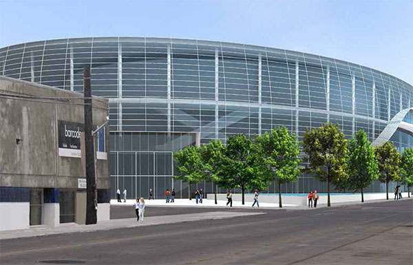 Investor Victor Coleman could help get the arena project off the ground. Credit: 360 Architecture)