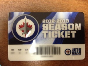 The New Ticket Card