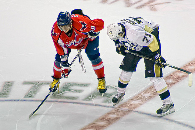 Alex Ovechkin and Evgeni Malkin have been compared for years. (Flickr/clydeorama)