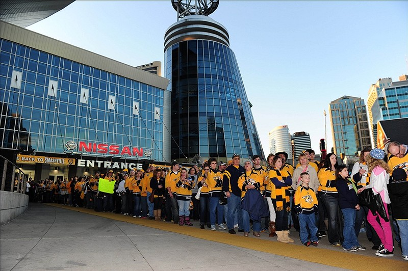 Hockey is doing pretty well in Nashville (Don McPeak-USA TODAY Sports)