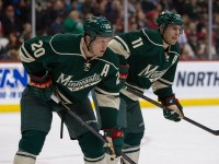 Zach Parise and Ryan Suter both signed with the Wild last summer (Brace Hemmelgarn-USA TODAY Sports)