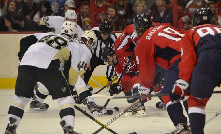 Capitals Lose 6-3 To Penguins On Super Sunday