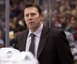 Joe Sacco Avalanche coach NHL