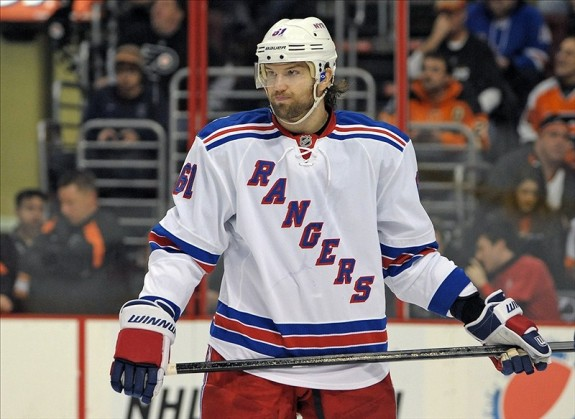 (Eric Hartline-USA TODAY Sports) I knew better than to write-off Rick Nash, and the New York Rangers forward is making amends for his putrid playoff effort by ranking amongst the league's leading goal-getters to start this season.