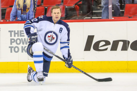 Winnipeg Jet Olli Jokinen - Photo By Andy Martin Jr