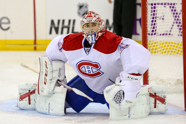 Carey Price is one of the favourites for 2014(Photo: Andy Martin Jr)