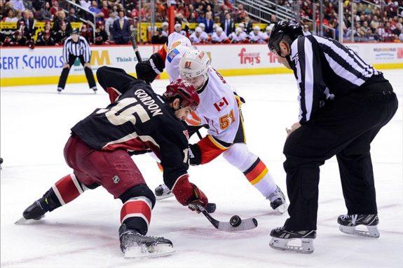 Gordon is the NHL's faceoff wizard (Matt Kartozian-USA TODAY Sports)