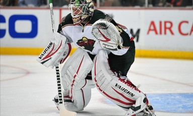 Niklas Backstrom Skates Back into Minnesota