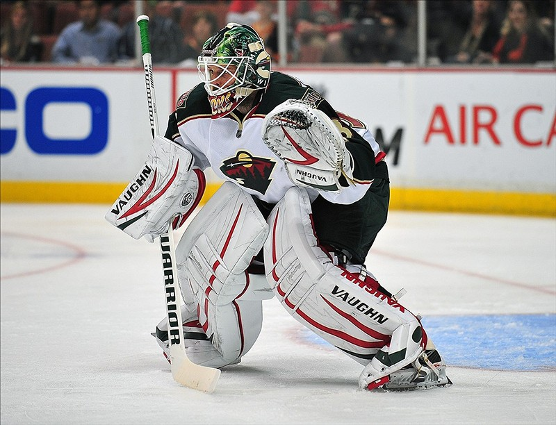 Niklas Backstrom Needs rest. (Gary A. Vasquez-USA TODAY Sports)