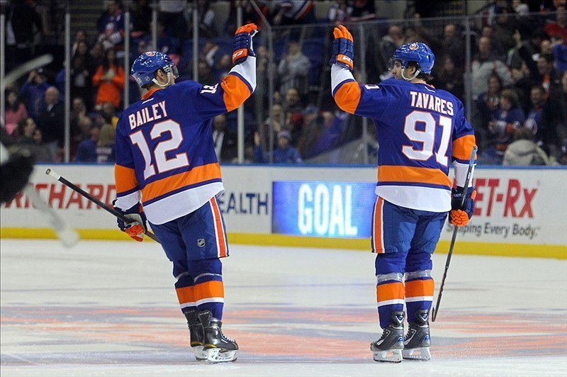 Rumor mills, as usual, have been rumbling, but it's anyone's best guess if the New York Islanders will trade anyone from their active roster. (Brad Penner-USA TODAY Sports)