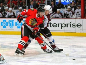 Brandon Saad chicago hockey