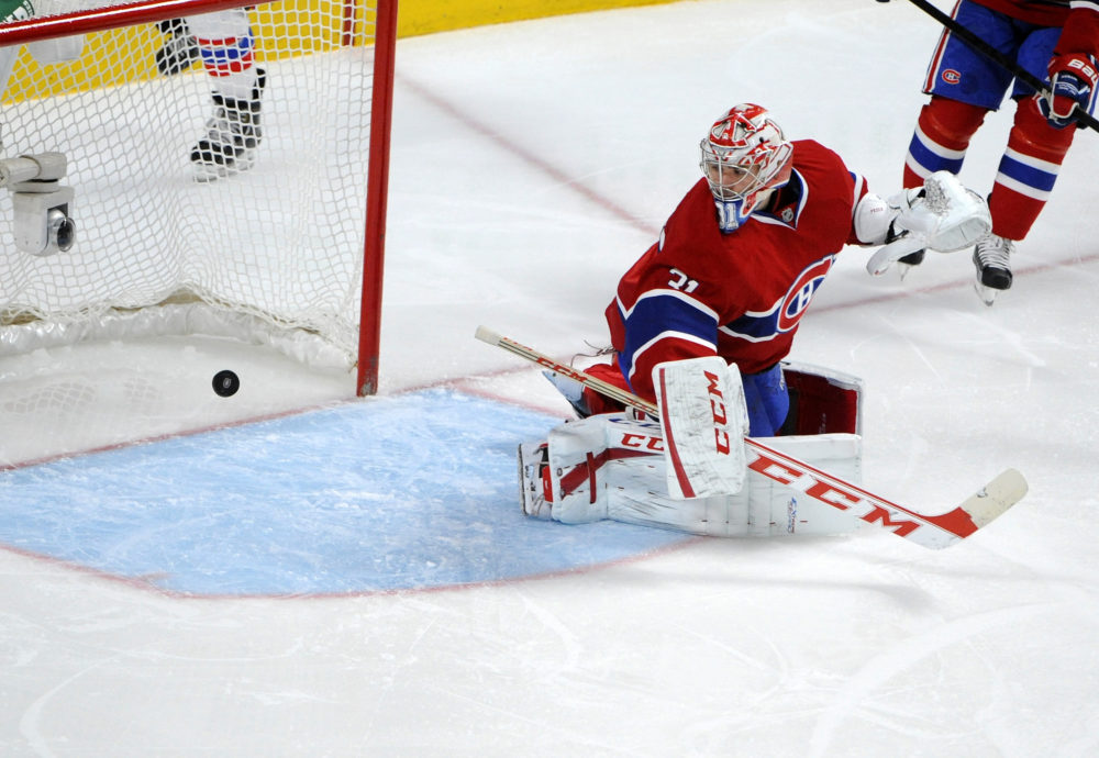 Carey Price has lost his confidence (Credit: Eric Bolte-USA TODAY Sports)