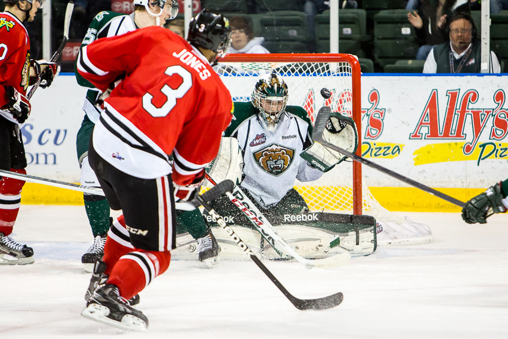Portland Winterhawks #3 Seth Jones destined for #1 in 2013 NHL Draft? (Photo by Christopher Mast)