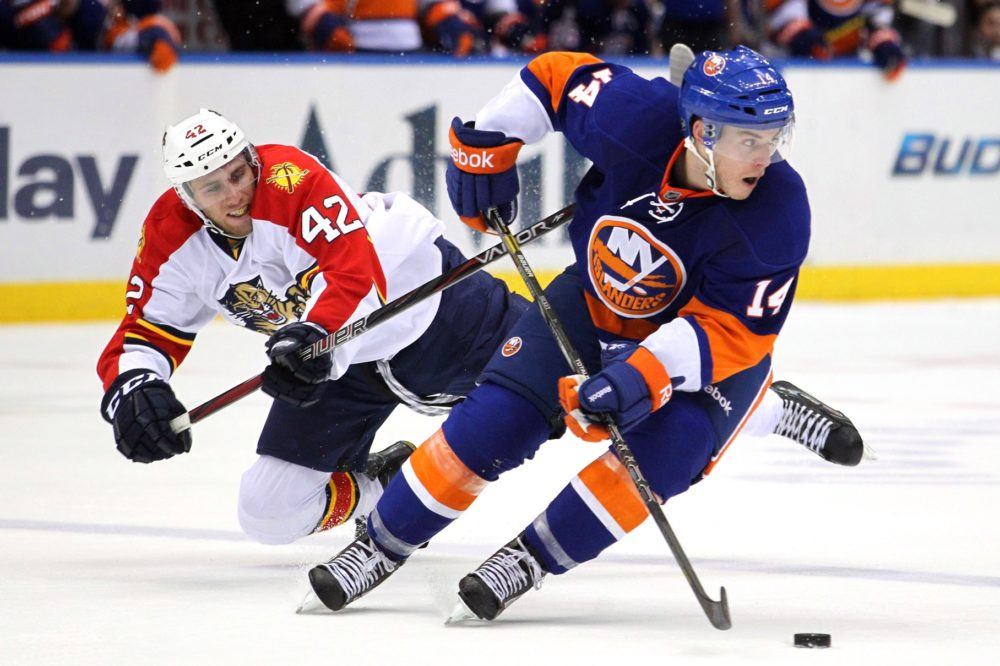 Thomas Hickey provided a positionally sound option on defense for the Islanders and will remain a good, young, and dependable depth option for New York. (Brad Penner-USA TODAY Sports)