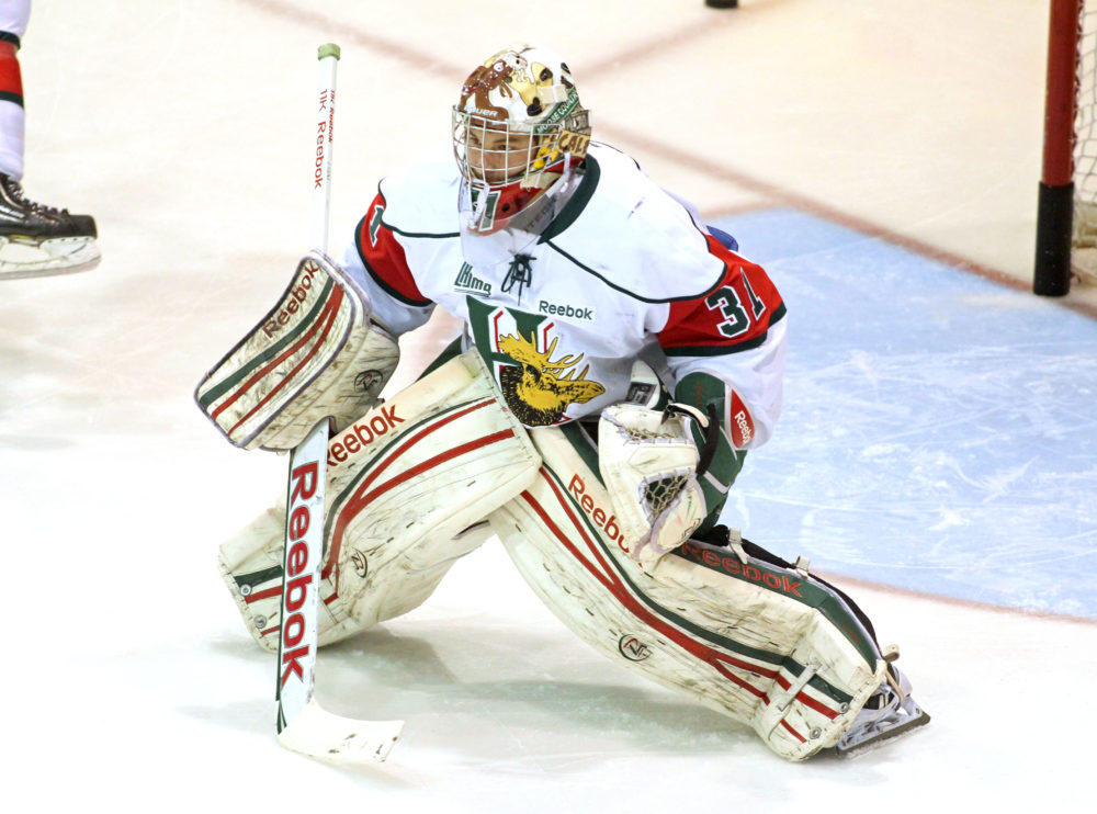 Zach Fucale has excelled in the QMJHL and has been an integral part of the Halifax Mooseheads' success. (theqmjhl.ca)