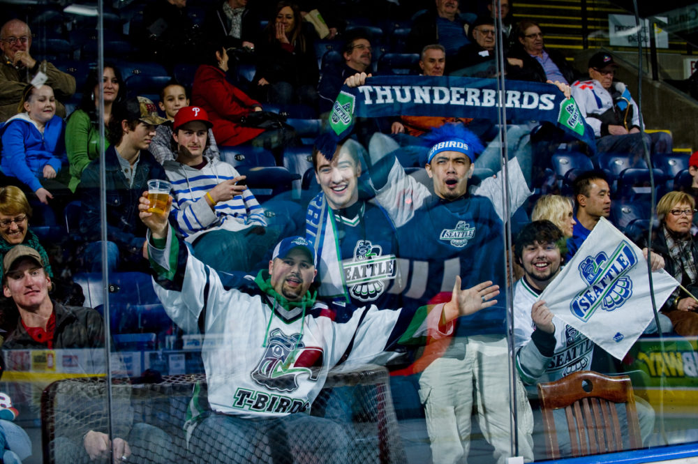 Fans of the Seattle Thunderbirds need their team to stay. (Shoot the Breeze Photography)