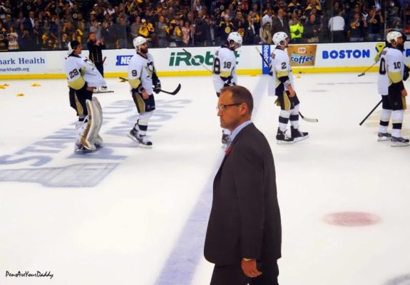 Will Dan Bylsma be leading the Penguins in the fall? (Pensryourdaddy / Picasa)