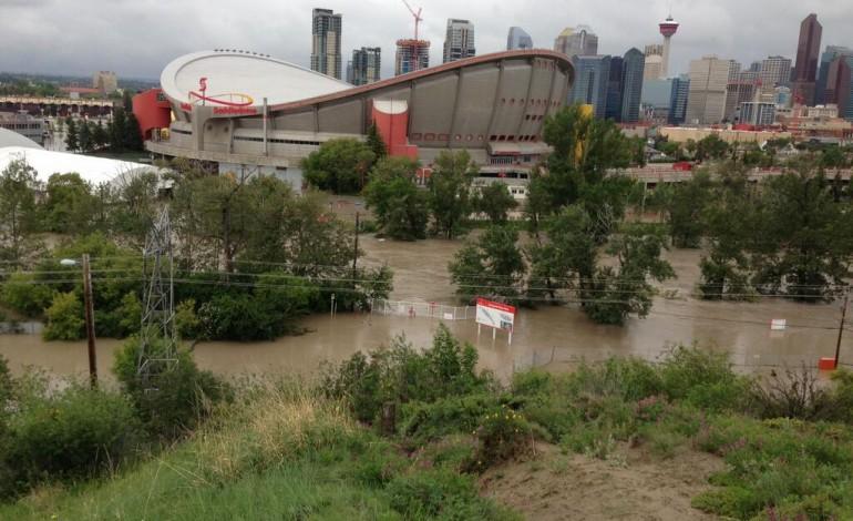 Report: Major Flood Damage To Calgary's Scotiabank Saddledome