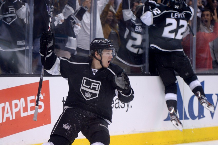 Tyler Toffoli has had a torrid November, making him a hard to ignore option in most fantasy formats. (Kirby Lee-USA TODAY Sports)