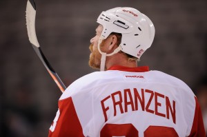 John Franzen, Detroit Red Wings, Injury