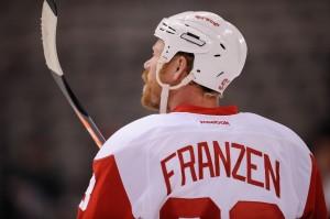 John Franzen, Detroit Red Wings, Injury