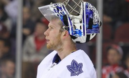 "James Reimer Leaves Practice After ""Awkward Fall"""