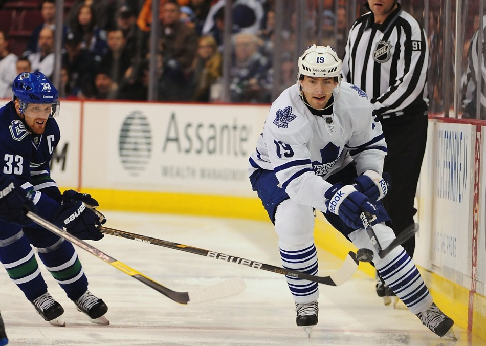 Is it possible that Joffrey Lupul could find himself in a non-Toronto Maple Leafs jersey come September? (Anne-Marie Sorvin-USA TODAY Sports)